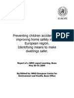 Preventing children accidents and