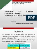 MOLIENDA Y CLASIFICACIÓN