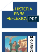 Una Historia Para Reflexionar. Power Point