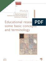 Quantitative Research Methods in Educational Planning M1 P1