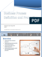 Process Definition and Properties