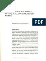 Manrique Miriam - Ritual y prácticas funerarias en Mixquic y Zapotitlán