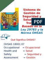 Sistema de Gestión de SST basado en la ley 28783 y OHSAS 18001