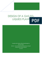 Senior Design Project - Gas-to-Liquids Plant Design