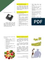 Anoreksia Leaflet