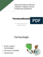 Medicina Farmacodinamia