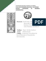 Producción Microbiana De Biosurfactantes Y Polisacáridos Extracelulares