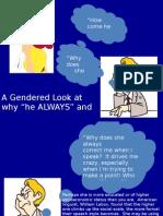Lang & Gender Service Learning