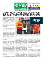DENR awards certificate of appreciation to DHL