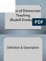 Theories of Democratic Teaching