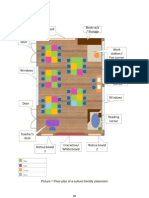 Floor Plan of a Culture Friendly Classroom