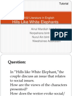 hills like white elephants analysis