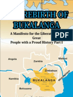 The Rebirth of Bukalanga Final Version on Word for Internet