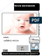 Pediatrics Revision