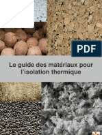 EDF Guide Isolation Thermique