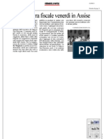 Rassegna Stampa 01.09.2013