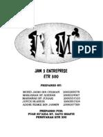 ETR Jam 3 Entreprise