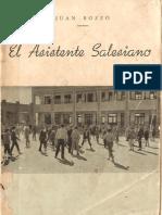 BOZZO, JUAN - El Asistente Salesiano 1960
