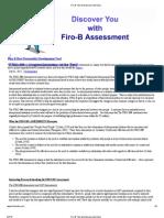 Firo B Test