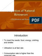 EVS Lec 17 Natural Resources Depletion