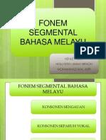 Fonem Segmental Bahasa Melayu