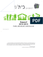 Rapport The  beit Project 2012-2013