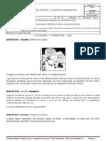 ATIVIDADES 7ºSÉRIE - 2º TRIMESTRE - CIÊNCIAS - PROF. WAGNER