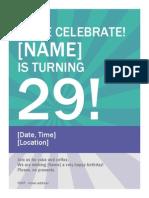 Come Celebrate