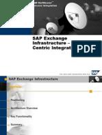SAP Exchange Infrastructure 3.0 – XI Overview
