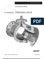 IWkm 370d4 Ball Valve - IOM manual