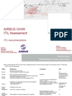 Audit ITIL V3 Recommandation