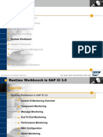 Runtime Workbench in SAP XI 3.0