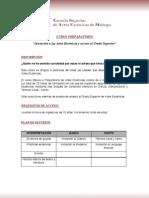 ESAEM - Curso Preparatorio 2012-2013