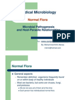 7313515 Normal Flora Microbial Pa Tho Genesis and Host Parasite Relationship
