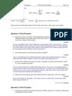 DMC Sample Exam Answers