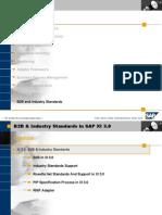 B2B Industry Standards SAP XI 3,0