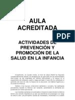 Enfermería en la prevención y promoción de la salud en la infancia