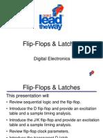 Flip Flops Latches