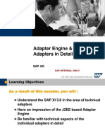 SAP XI 3.0 RDXI30_Unit4_AdapterFramework_Detail_V4.