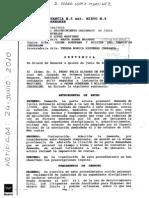 SENTENCIA CONTRA LA OSMTJ DE 15-6-10. EXPEDIENTES SANCIONADORES.