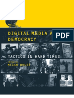 Media Digital Media and Democracy