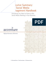 Accenture Executive Summary Social Media Handbook