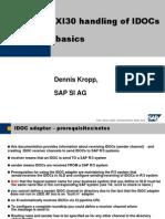 SAP XI 3.0 IDOC Basics