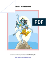 Hindu Worksheets