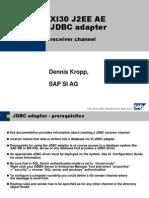 SAP XI 3.0_JDBC_receiver.ppt