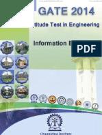 GATE 2014 Brochure