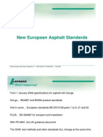 New European Asphalt Standards - Presentation