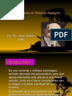 Psicosíntesis. Ps. Jaime Botello Valle