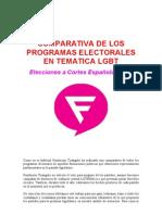 COMPARATIVA ELECTORAL LGBT ESPAÑA 2011