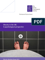 BPS Obesity in the UK - A Psychological Perspective